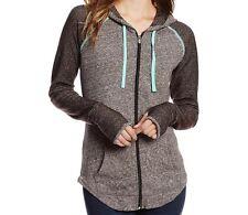 O'NEILL Women's MAJESTIC Hooded Zip Fleece - MHT - Small - NWT