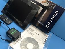 """NEW IN BOX Sony DPF-D810 8"""" Digital Picture Frame"""
