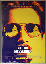 Cinema Poster: KILL THE MESSENGER 2015 (One Sheet) Jeremy Renner Robert Patrick
