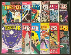 Thriller #1-12 complete (1983, DC Comics) by Robert Fleming and Trevor Von Eeden