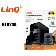 Cassa Bluetooth Speaker 31W Sistema Home Theater 2.1 Multimedia Linq Ht-024a