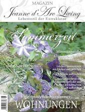 New Jeanne d'Arc Living Magazine Magazine August 2014 Edition Shabby Fransk