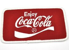 COCA COLA COKE VINTAGE USA STAFFA rappezzi ricamate emblema Uniform Patch