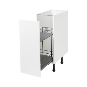 Pebre Kitchen 30cm wide soft close runners Universal Pull Out Storage Unit