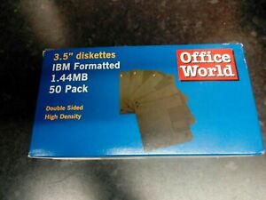 Box Of 50 Computer Diskettes