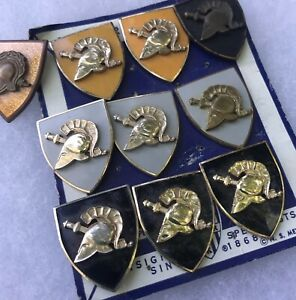 1960s West Point Distinctive Insignia Collection Lot Of 10 US Military Academy