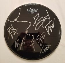 P.O.D. Autographed Black Remo Drumhead