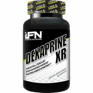iFORCE NUTRITION Dexaprine XR 60caplets Mental Focus, Enhanced Mood & Energy