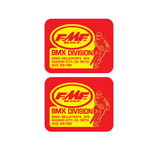 FMF BMX Division Decal set 2(pcs) old school BMX