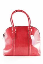 MANGO Henkeltasche rot-schwarz Casual-Look Damen Tasche Bag Carry Bag