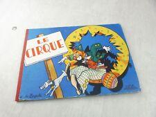 Ancien livre pop-up, Le cirque, Jo Zagula, Lucos Mulhouse