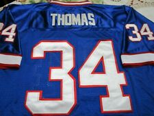 Buffalo Bills 35th Anniversary Thomas #34 Sewn 1994 Throwback Jersey-54 New Rare