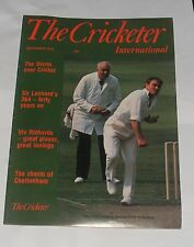THE CRICKETER INTERNATIONAL SEPTEMBER 1978 - VIV RICHARDS/CHELTENHAM