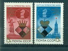 Russie - USSR 1984 - Michel n. 5431/32 - Championnat du monde d'échecs
