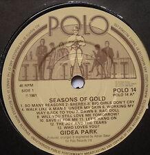 """GIDEA PARK - Seasons Of Gold - Excellent Condition 7"""" Single Polo POLO 14"""