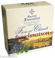 Speziali Fiorentini CHIANTI FLOWERS Italian Florence Tuscany Bath Soap Gift New