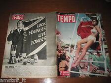 RIVISTA TEMPO 1951/33=MATILDE FARE'=GAYELORD HAUSER=BAGONGHI NANO=CUZCO PERU'=
