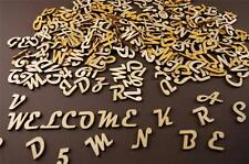 250+ Wooden Small (2cm) Adhesive Letters & Digits Craft Alphabet Decoration(NF9)