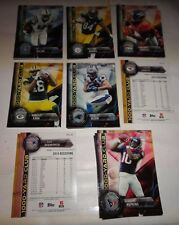 2015 TOPPS FOOTBALL INSERTS SINGLES==PICK 15 TOTAL FROM LISTINGS