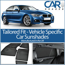 BMW 3 Series 4 door 2012 On UV CAR SHADES WINDOW SUN BLINDS PRIVACY GLASS TINT