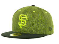 San Francisco Giants New Era 59Fifty MLB Baseball Sub Out Fitted Cap Hat Green