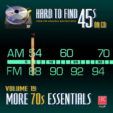 New CD Hard To Find 45s On CD Volume 19 More Seventies Essentials 21 Tracks 70s