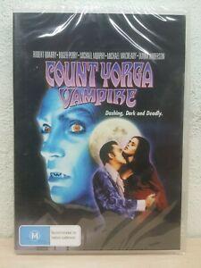 Count Yorga Vampire DVD 1970 Robert Quarry Roger Perry - BRAND NEW - ALL NTSC