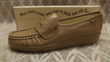 "SAS ""CLASSIC"" Mocha Penny Loafer Leather Shoes NIB sz 7 M USA made"