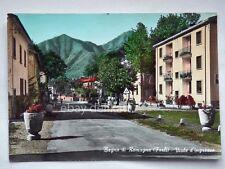 BAGNO DI ROMAGNA Viale ingresso Forlì vecchia cartolina