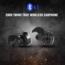 Q800 Bluetooth 4.1 Earphone Wireless Double Track Headphone Headset W/MIC Stereo