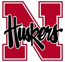 Nebraska Corn Huskers Vinyl DieCut Sticker Decal Logo Ncaa 4 Stickers