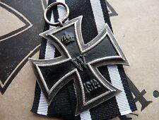 VERY RARE WW1 German Iron Cross with Quarter Moon Crown 800 Mark