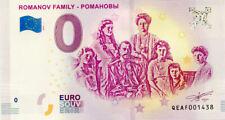 RUSSIE Romanov Family, 2019, Billet 0 € Souvenir
