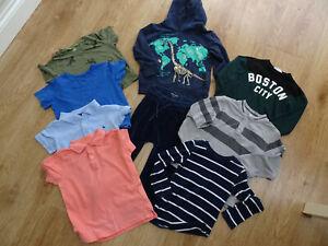 H&M boys 9 piece clothes bundle jumper sweatshirt top joggers AGE 2 - 3 YEARS