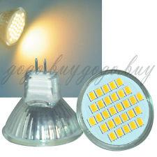 2 x Bright 2835 SMD MR11 GU4 LED Spot Light Bulb Lamp 12V 3W 30 LED Warm White