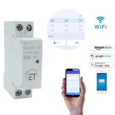 18mm Din Rail Wifi Circuit Breaker Smart Switch Remote Control By eWeLink App