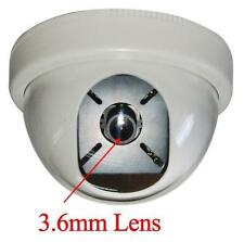 """Sunvision 480TVL Indoor CCTV Dome Camera 1/3"""" Sony CCD 3.6mm Lens (28)"""