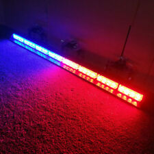 "35"" 32LED  Emergency Warning Traffic Advisor Flash Strobe Light Bar Red/Blue"