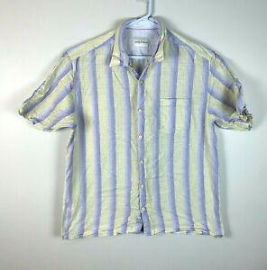 Tommy Bahama Short Sleeve Linen Shirt Size Men's Large