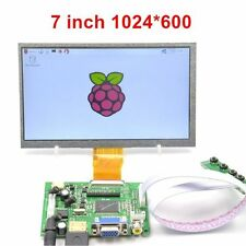 "Raspberry Pi 7"" HDMI HD LCD Schermo 1024 600 Display Modulo Kit 7 Pollici"