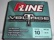 P-Line Voltage 10-Lb Test Tournament Grade 300 yds Clear Copolymer Fishing Line