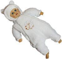 Taufanzug Baby Mädchen Taufe Anzug Hochzeit Anzüge Festanzug Weiß KA1 3tlg