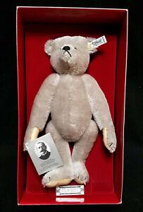 """MARGARETTE STEIF GIENGEN-BRENZ 12"""" Bear in Box Teddybar Modell 1902  Tag 0150/32"""