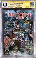 Detective Comics 1000 - CGC SS 9.8 - Signed 7x! - Jim Lee, Scott Williams, More!