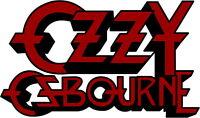 Ozzy Osbourne Logo Decal Vinyl Sticker 4 Stickers