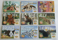 TY BEANIE BABIES Collectors/Trading Cards - Full Set of Series 1 Common Cards