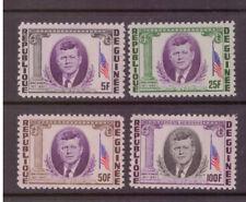 Guinea MNH 1964 Politician President Kennedy  set mint stamps