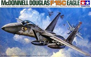 Tamiya 61029 1/48 Scale Model Aircraft Kit USAF McDonnell Douglas F-15C Eagle