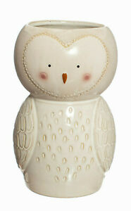 Sass & Belle Olivia Owl Shaped Ceramic Vase Flowers Gift Boxed Floral Home Decor