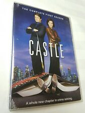 Castle: The Complete First Season (DVD, 2009, 3-Disc Set) NEW free shipping